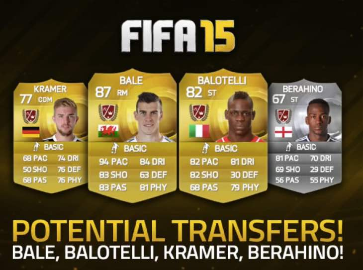 FIFA-15-3 Would New Transferred Players Update on FUT 15